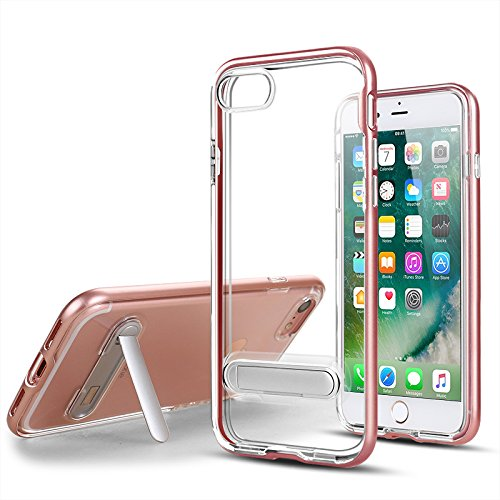 Case for Apple IPhoneX 6 6S 7 8 Plus Phone Shell Ultra Thin Kickstand Transparent Coque for Samsung S8 S9 S8Plus S9Plus Cover