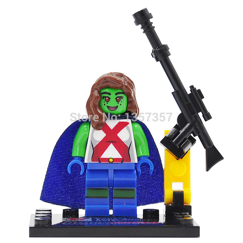 Dargo D856-A Miss Martian Building Blocks Super Heroes Avengers Ultron Single Block Bricks Toys