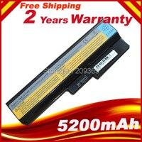 5200MaH Laptop Battery For Lenovo 3000 G430 G450 G530 G550 N500 Z360 B460 B550 V460 V450