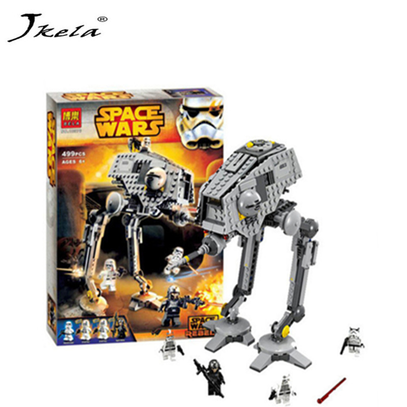 [New] 499pcs New Star Wars AT-DP Building Blocks Toys Gift Rebels Animated TV Series Compatible With Legoingly Starwars