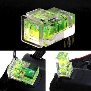 Image 3 - Kaliou nivel de burbuja de 2 ejes Universal Nivel de zapata caliente para Canon Nikon Casio Fuji Samsun Cámara accesorios DSLR