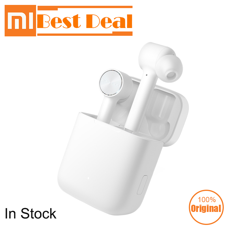In Stock Xiaomi Airdots Pro Mi Air TWSEJ01J Wireless Bluetooth Earphones HD Sound Noise Reduction Touch Control