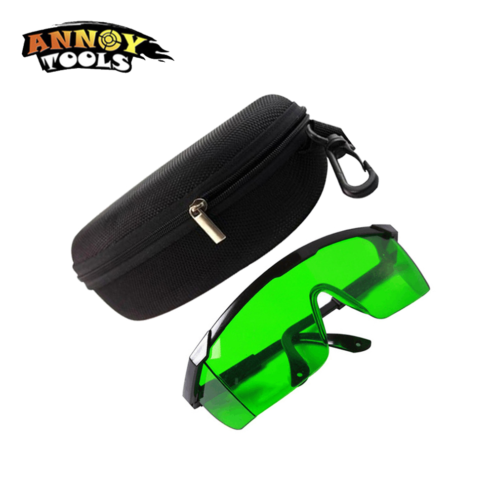 ANNOYTOOLS Industrial Protective Goggles Laser Protection Glasses Protection Wavelength 190 - 490/900 - 1700nm