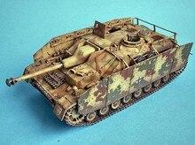 Escala modelo 1:35 escala tanque modelo alemão sdkfz163 tanque montagem modelo builing kit tanque diy 35087