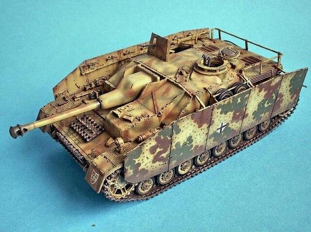 Scale Model 1:35 Scale Tank Model German sdkfz163 Tank Assembly Model Builing Kit Tank DIY 35087