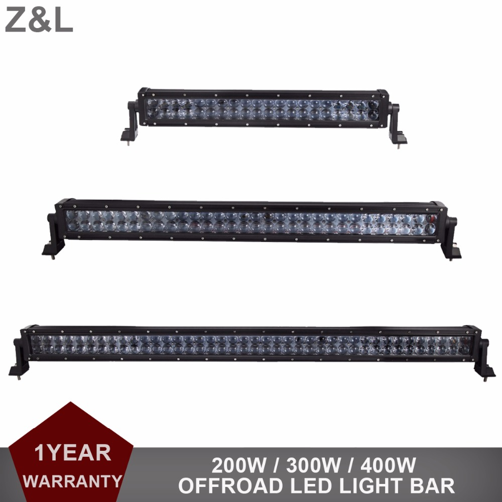 22 32 42 Inch Offroad LED Light Bar Car Auto Boat Van Camper SUV Truck Tractor Wagon 4X4 4WD ATV Drving Lamp 12V 24V Headlight