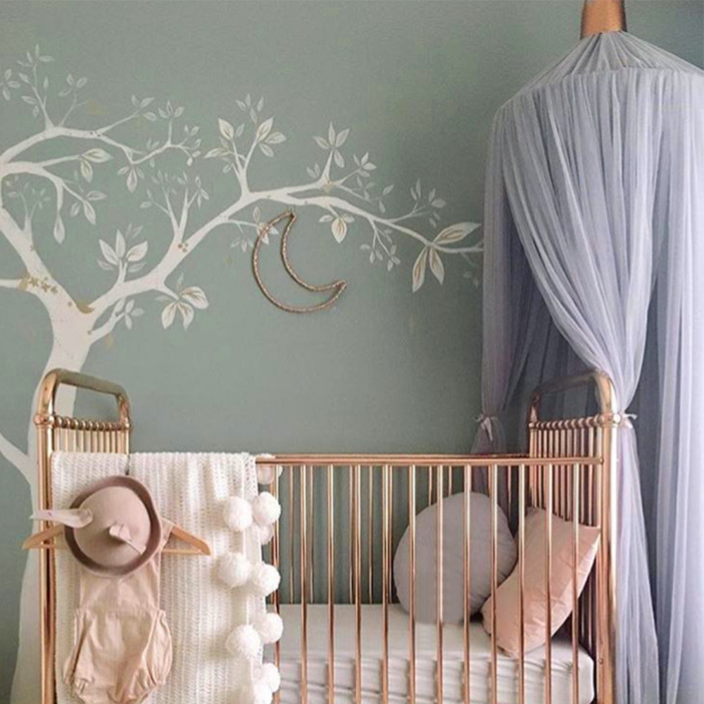 Bed Gordijn Kind Kopen Goedkoop Kid Crib Netting Canopy Bed Gordijn Ronde Dome