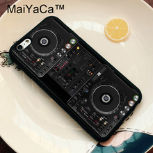 DJ Controller Deck Player Soft TPU Protective Shell Skin Phone Case For iPhone 6 6S Plus 7 7 Plus 5 5S 5C SE Back Cover protective plastic back case for iphone 5c black
