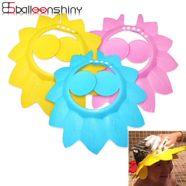 ce549086ea4 BalleenShiny Soft Baby Shampoo Cap Safe Shampoo Shower Bathing Protect Hat  For Baby Wash Hair Shield