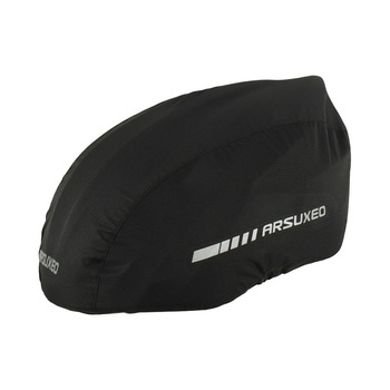 Waterproof Bike Helmet Cover with Reflective Strip Cycling Bicycle Helmet Rain Cover Road Bicycle Helmet Water Snow Cover 8
