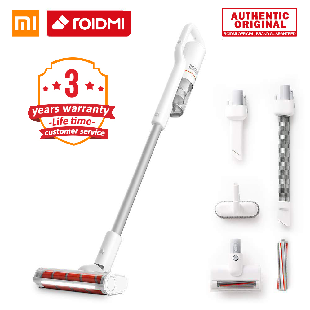XiaoMi ROIDMI Vertical Vacuum Cleaner Cordless F8 Handheld Wireless 6 in 1 Vacuum Low Noise Smart Home Cleaner