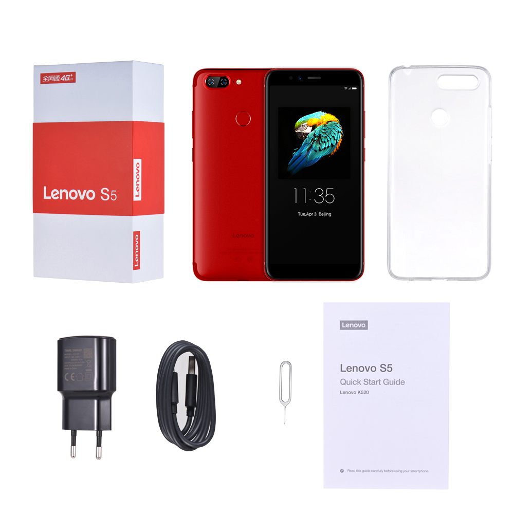 Lenovo S5 K520 4gb Ram 64gb Rom Mobile Phone Dual Rear 13mp + Front 16mp Face Id 18:9 Full Screen 4k Video Smartphone #6