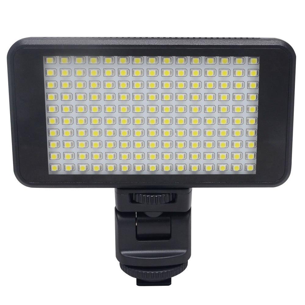 Mcoplus Mini LED-150 Dimmable Ultra High Power Panel Studio Video LED Light for Canon Nikon Panasonic Sony and Olympus DSLR led телевизор panasonic tx 43dr300zz