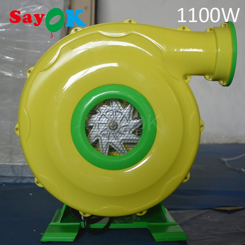 Plastic electric operated air blower inflatable fan(350W/450W/750W/950W/1100W/1500W)