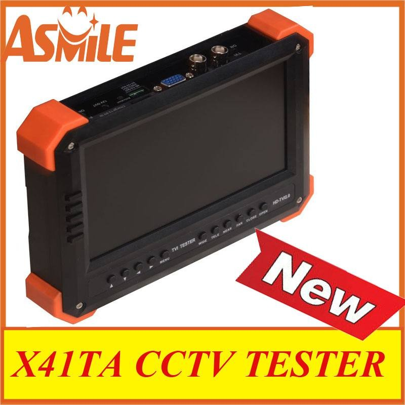 NEW X41TA cctv tester support AHD2.0/720P/1080P from asmile