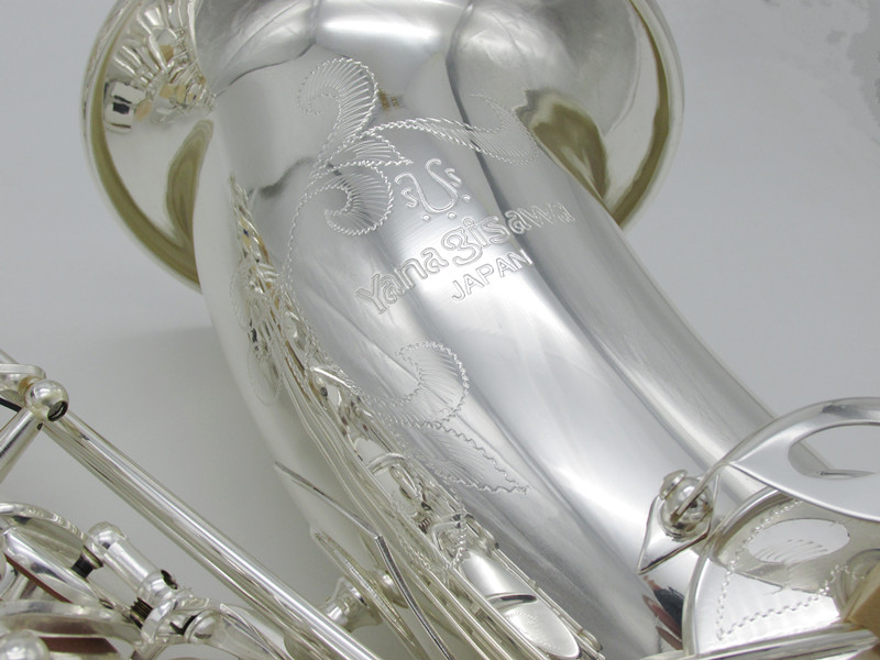 Saxophone d'origine japon ténor argenture YANAGISAWA 901 Bb argent T901 saxo embout professionnel avec étui et boîte livraison gratuite