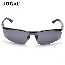 JOGAL Night Vision Gentle Men Cat eye Sunglasses Aluminum Magnesium Frames Eyewear Accessories UV400 Driving Sun Glass 3 colors