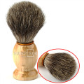 Best BADGER Hair Shaving Brush For Shaving Barber Tool Best Men Gift Wood Handle New