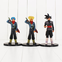 DXF O Super Guerreiros Figura Son Goku Preto Trunks Super Saiyan Dragon Ball Z Figura Toy Anime DBZ Modelo Bonecas(China)