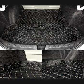 Car Trunk Mats for kia sorento prime kia sportage ql 2016 2018 kia optima k5 Accessories Car Cargo Liner Boot Carpet Trunk Mats фото
