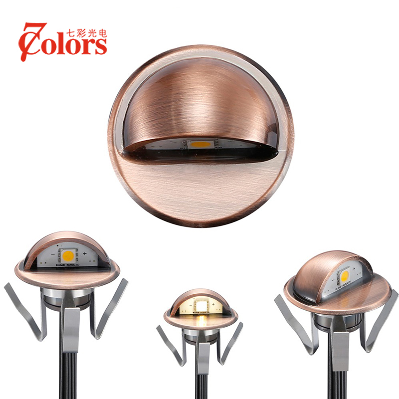 Pack of 10 Recessed Luminaries Floor Lamp Waterproof Garden Step Light 12V Aluminum Lighting for the
