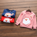 Kids Clothes Winter Baby Girl Sweater Cute Long Sleeve Pullover Santa Claus Pattern Girls Thicken Sweatshirt Hoodies,2 Years Old