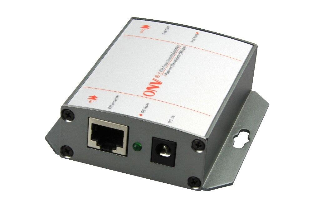Single port super high power Gigabit PoE injector Single port power is 95W 2x 10 100