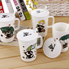 Fashion Creative Cute Cartoon Ceramic Cat Mug Breakfast Cups Lovers Milk Nespresso Coffee Tea Mugs Porcelain