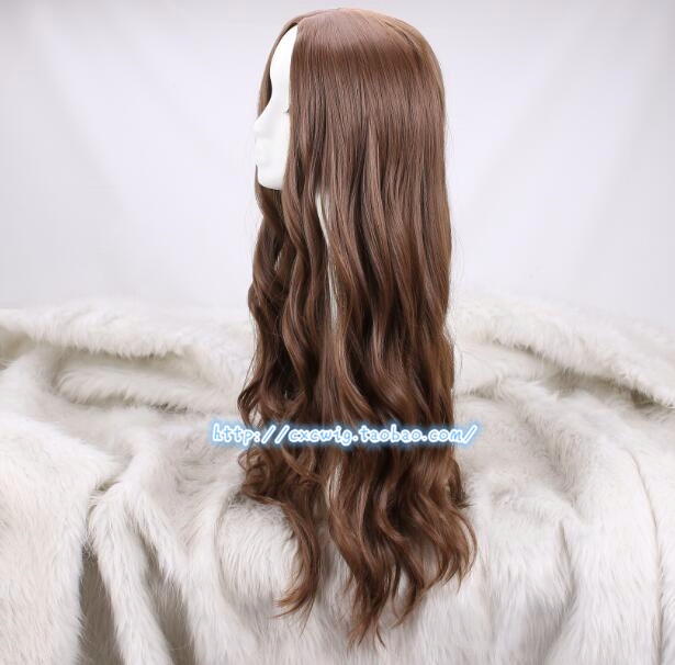 Image 5 - Cosplay Wig Scarlet Witch Wanda Django Maximoff Wavy Long Synthetic Hair for Adult-in Anime Costumes from Novelty & Special Use