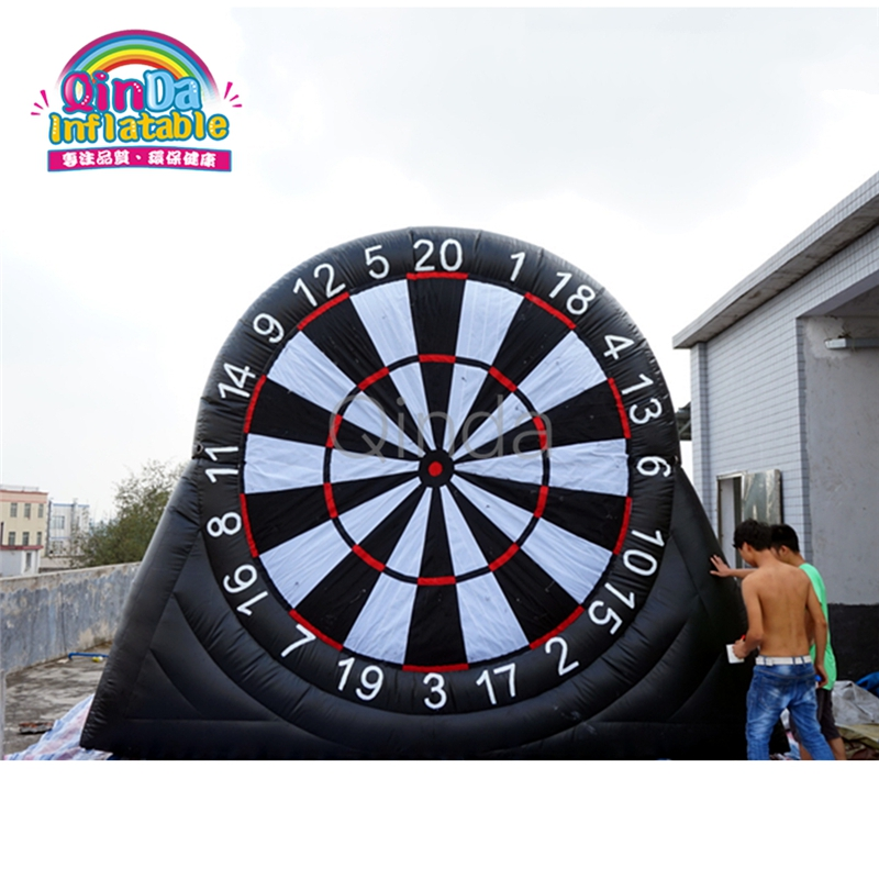 China manufacturer 9.8ft height inflatable dart game/inflatable soccer darts for party rental game darts legering metalen wapen model draaibaar darts cosplay props voor collectie fidget spinner hand anti stress