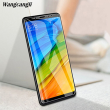 wangcangli Tempered Glass For Xiaomi Redmi Note 5 Screen Protector  For Redmi Note 5 2.5D 0.26mm 9H Toughened protective film makibes toughened glass screen protector film for xiaomi redmi note 2