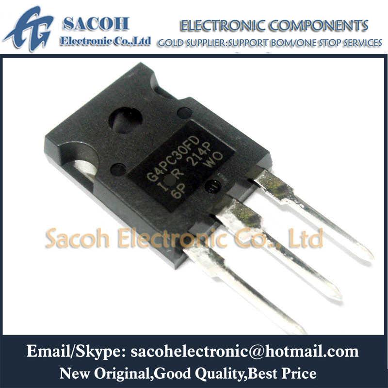 2PCS NEW Manu:IR G4PC40W IRG4PC40W Encapsulation:TO-247,600V 40A