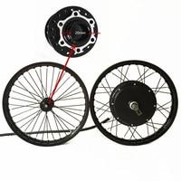 50H QSV3 48v 120v 5000w electric bike hub motor wheel macthing with front wheel with hub 20mm e bike kit
