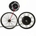 50H QSV3 48v-120v 5000w electric bike hub motor wheel macthing with front wheel with hub 20mm e bike kit