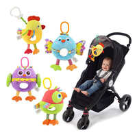 New Infant Mobile Baby Plush Toy Bed Wind Chimes Rattles Bell Toy Stroller for Newborn kids toy