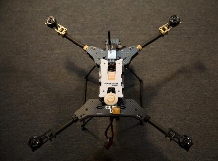 Daya 680 UAV H4 Folding 4-Axis Carbon Fiber Quadcopter Frame w/Landing Gear for FPV