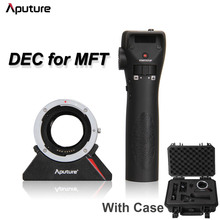 Aputure DEC Remote Controller Wireless Follow Focus EF EF-S Lens Adapter for MFT Micro 4/3 Mount Camera DEC Driving Eos for Cine(China)