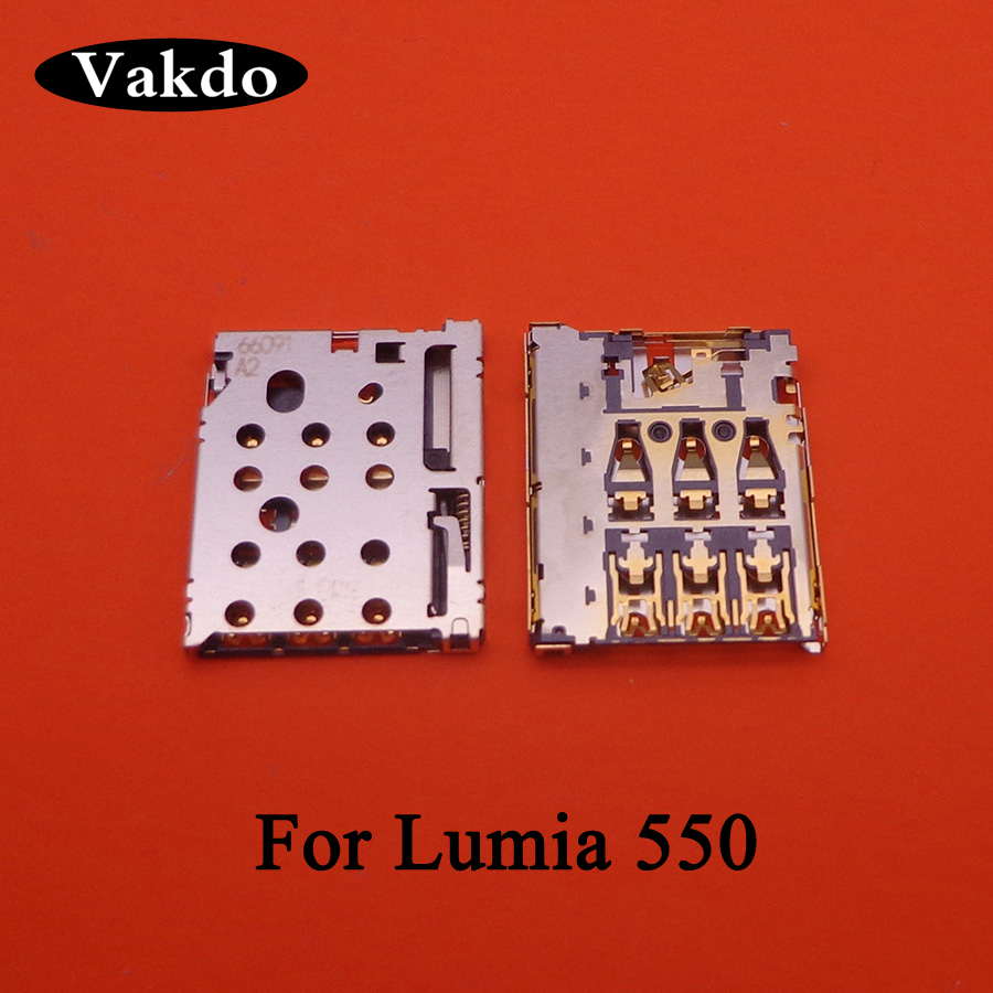 New <font><b>SIM</b></font> Card Slot Tray Holder Socket Reader Connector For <font><b>Nokia</b></font> Lumia 550 530 535 730 <font><b>1320</b></font> 630 image