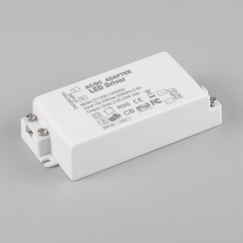 5 PCS 12V 2A 24W AC/DC Transformer Driver For MR16 MR11 GU5.3 LED Bulbs Strips светодиодный драйвер трансформатор источника питания 220v 240v для mr16 mr11 12v светодиодные лампы