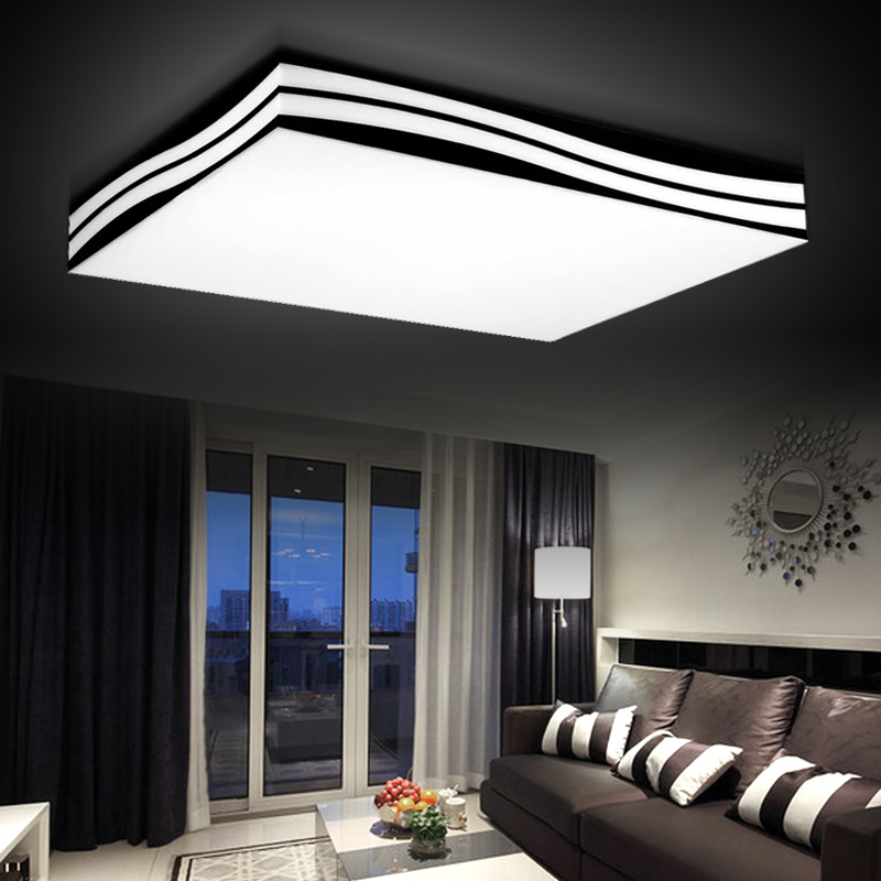 diy modern lighting. modern led ceiling light living room lamp diy brief lighting wave lamps 85265vin lights from u0026 on aliexpresscom diy r