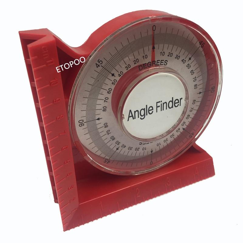 Level Magnetic Protractor Angle Locator Tilt Meter Finder Inclinometer Slope