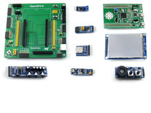 Carte de développement STM32 pour STM32F3DISCOVERY STM32F303VCT6 MCU + 9 Modules Kit avec carte UART USB PL2303 = Open32F3-D le paquet A(China)