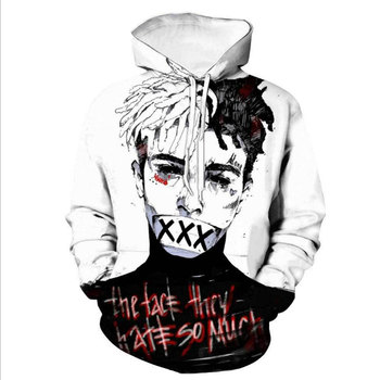 Sweat Capuche Hip Hop XXX Tentacion