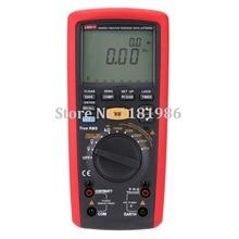 UNI-T UT505B 1000V Digital Handheld True RMS Megger Insulation Resistance Meter Tester Multimeter Ohm Voltmeter Megohmmeter стоимость