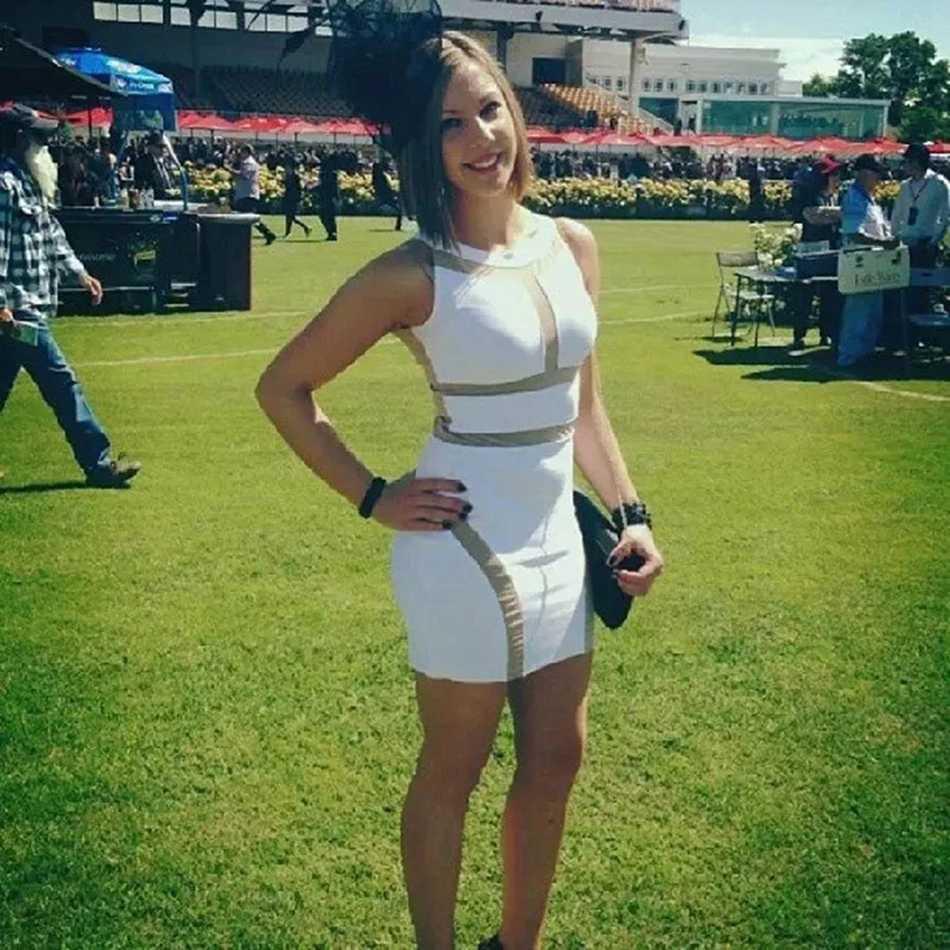 Летние Бандажное платье для женщин мини-повязка бутики белый сексуальный Лоскутная Bodycon Вечеринка Клубная одежда Новые поступления