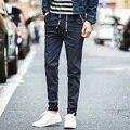 2016 Casual Pants Plus Size 36 Black Dark Blue Men Autumn 2017 Spring Cotton Pants Fashion Trousers Men