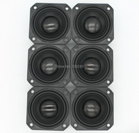 6pcs Melo David peerless P830985 2.5 inchaluminum cone fullrange speaker hifi av desk car audio