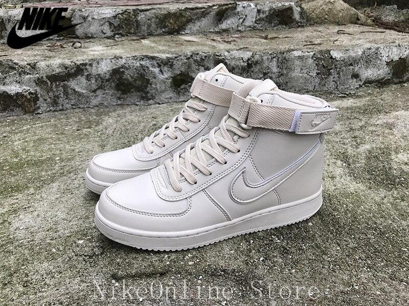 Nike Vandal High Classic Men Running Shoes AH8518-200 Retro Cushioning Sports Shoes Outdoor Sneaker EUR40-44