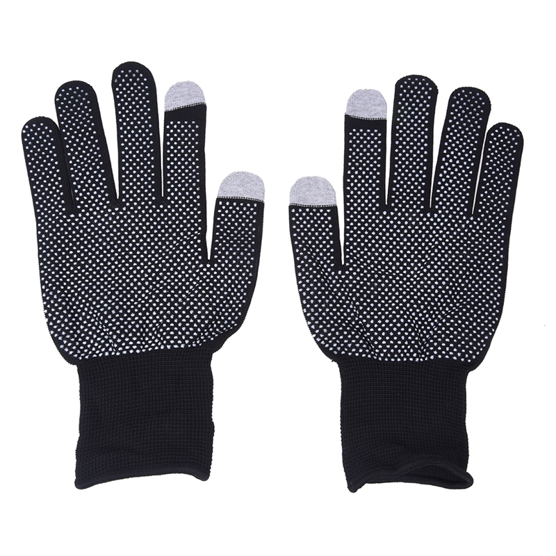 Pair Gloves Acrylic Silicone Digital Touch Screen Mobile Winter