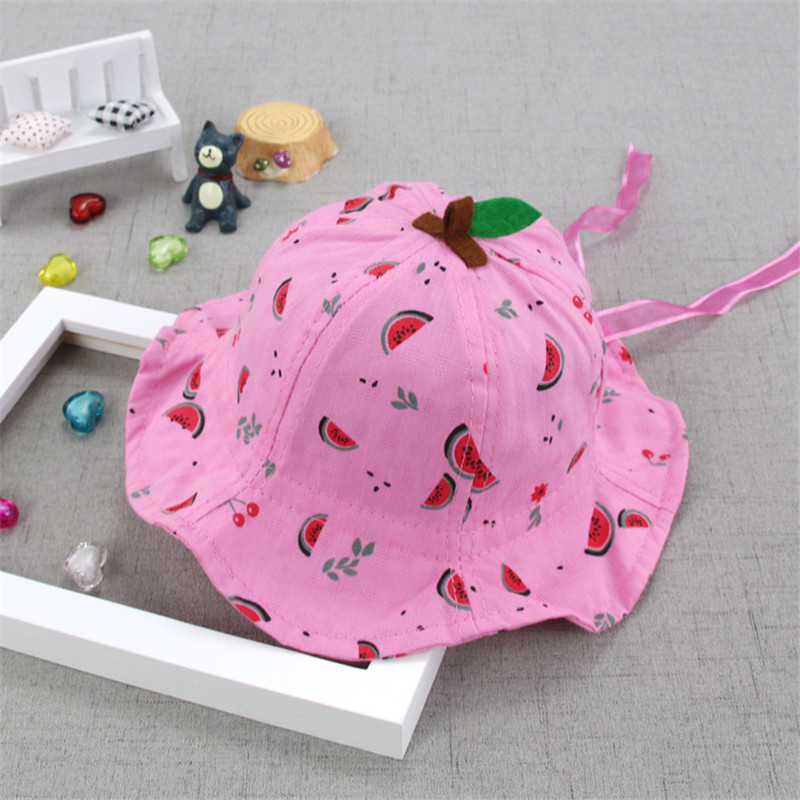 Soft Baby Bucket Sun Hat Summer Kids Basin Caps Windproof Children Fisherman Hats Breathable Lace Girls Hollow Beach Cap Accesso Hats & Caps